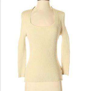Lafayette 148 New York Silk Pullover Sweater